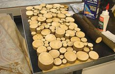 Could place candles on it. no instructions. Free DIY Wood Projects | Recycled Wood Project - d.i.y.