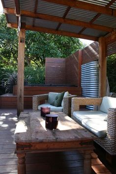 Pergola For Small Patio Pergola With Roof, Deck With Pergola, Home, Outdoor Rooms, Iron Pergola