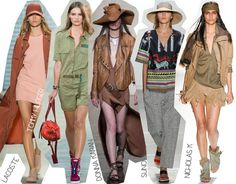 Semana de la Moda de Nueva York Primavera Verano 2014 Tendencias Safari Urban Safari
