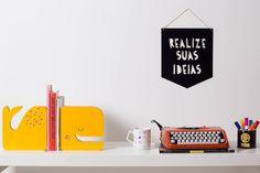 Aparador de Livros Baleia | Adot - Arte e Decoração