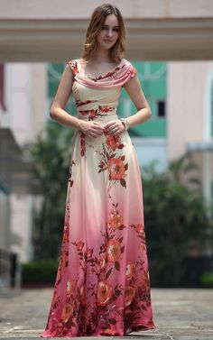 Red Sleeveless Pleated Floor Length Gowns Evening Dress - Long Dress - Occasions Dresses - Merpher.L