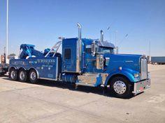 Western Distributing Transportation, Denver CO -Kenworth W900 w/ Century 50 ton
