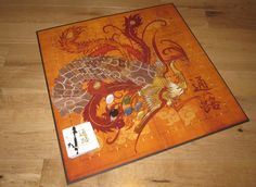 Love the design of this new strategy board game, Tsuro. (Board games are often beautiful.)