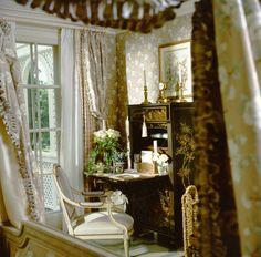 New Jersey country house guest bedroom, Howard Slatkin.