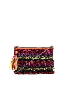 M Missoni Melange Raffia Bag en Multi