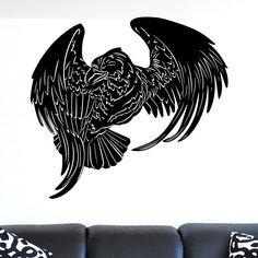 awesome Flying Eagle Bird of Prey Wall Sticker