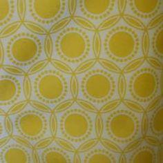 Joel Dewberry Laminate Opal - Dandelion Fabric Cover kitchen chairs