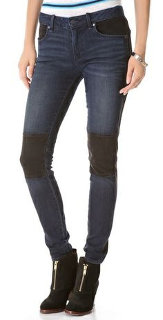 Marc Jacobs Seamed Cigarette Jeans