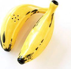 Banana Salt and Pepper set