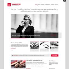 The Practice Responsive Lawyer WordPress Theme | WordPress Theme Download