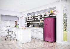 Fangen Wir Mit Einer Kurzen Erklärung Zum Begriff An. Gibt Es Moderne Retro  Kühlschränke? Was Muss Man Denn Eigentlich Darunter Verstehen?Die  Nachahmung Von