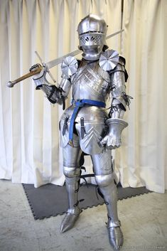 NauticalMart Gothic German Suit of Armor Medieval Full Body Armour - Halloween NauticalMart Armadura Medieval, Arm Armor, Body Armor, Fantasy Armor, Fantasy Weapons, Medieval Armor, Medieval Fantasy, Character Inspiration, Character Design