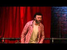 Tommy Tiernan on the shed