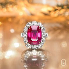 Harry Winston. The 10.89 carat Ruby from Burma is a remarkable symbol of Harry Winston's love affair with rare jewels of the world.