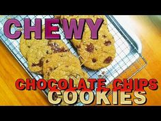 This is so far the best chewy Chocolate chip cookies recipe that i came across. The cooking of the butter is a bit time consuming but trust me, it's all wort. Best Chocolate Chip Cookies Recipe, Chip Cookie Recipe, Cookie Recipes, Chips, Make It Yourself, Baking, Easy, Youtube, Recipes For Biscuits