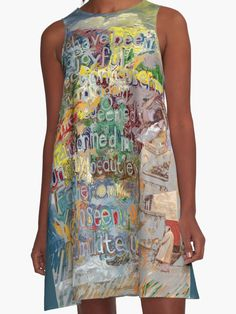 """The new A-line featuring """"All That We Have Been"""" collage and poem by Mark Turner"""