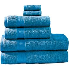 Divatex 6 Piece Bath Towel Set