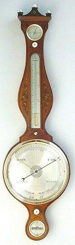 Engelse banjobarometer circa 1795