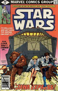 February 1980 Star Wars Marvel Comic Book - Rare & Hard to Find - Vintage Star Wars Fan Art, Film Star Wars, Star Trek, Star Wars Comic Books, Star Wars Comics, Marvel Comic Books, Marvel Girls, Deathstroke, Power Girl