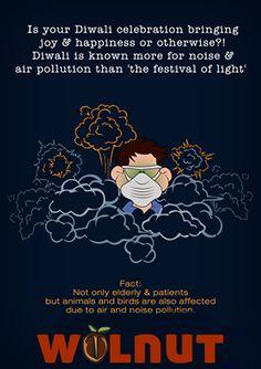 InfoDust: Have #PollutionFree #Diwali