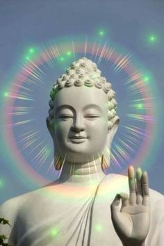 Buddha Has The Technicolor Enlightenment Buddha Kunst, Buddha Zen, Gautama Buddha, Zen Meditation, Little Buddha, Ganesha Art, Taoism, Buddhist Art, Buddhist Monk