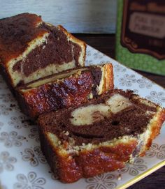 Bolo mármore de chocolate e limão | Food From Portugal