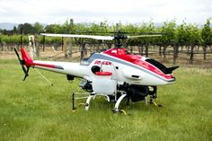 Researchers at University of California, Davis are testing the use of UAVs for crop dusting.