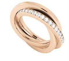Diamond Ring in Rose Gold
