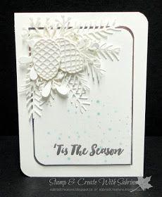 Stamp & Create With Sabrina: 2016 Holiday Catalogue Sneak Peek - Christmas Pines Bundle