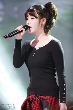 IU @Mary Beth Courier Music Travel Yesterday (Recording) cr: Kimjihyun