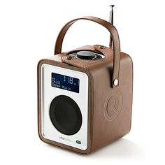 RUARK AUDIO Leather R1 radio carry case