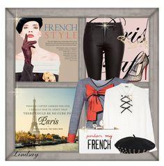 """""French"" plexiglas clutch bag Cecilia Ma"" by lindsayd78 ❤ liked on Polyvore"