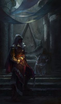 The Library (Assassin's Creed: Revelations). This was the saddest moment from any Assassin's Creed games!