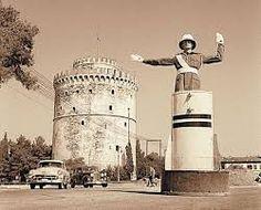 Αποτέλεσμα εικόνας για Πλατεία Λευκού Πύργου παλιες φωτογραφιες