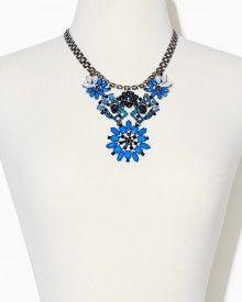 Antique Garden Collar Necklace