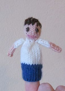 Knit Basic Finger Puppet completely customisable ~ Free Download Pattern