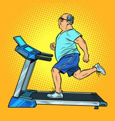 An elderly fat man treadmill sports equipment for vector Free Vector Images, Vector Free, Brunette Woman, Fat Man, Sports Equipment, Treadmill, Royalty, Women, Royals