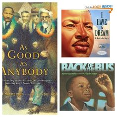 Sharing the Dream: 10 Children's Books about Martin Luther King, Jr. and the Civil Rights Movement Civil Rights Leaders, Civil Rights Movement, I Have A Dream, Dream Big, Reading Workshop, Classroom Fun, King Jr, African American History, Martin Luther King