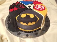 Multi super hero cake in all fondant by Inphinity Designs. Please visit my FB page Inphinity Designs at https://m.facebook.com/profile.php?id=71791500352&refsrc=https%3A%2F%2Fwww.facebook.com%2Fpages%2FInphinity-Designs%2F71791500352