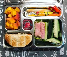 @boarshead_official rosemary ham, cucumbers, half a toasted bagel, peaches, a cheese stick, and an organic yogurt tube. Happy packing!  #lunch #bento #bentobox #organic #organicfood #healthy #healthyfood #healthykids #healthylife #healthyeating #Healthyfamily #instafood #bentolunch #instafoodie #eattherainbow #lunchideas #mealprep #healthychoices #huffposttaste #foodpic #foodie #balancedlunch #feedfeed #orlandoeats #healthymeals #kidslunch #balancedmeal #plan...