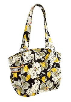 "Vera Bradley Glenna in Dogwood, $80 | ""We'll be toting the Glenna during the holiday whirlwind to carry all of our essentials."""