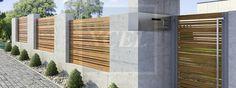 modern boundary wall - Google Search