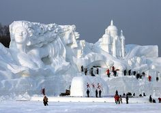 20 Amazing Things Made Out Of Snow