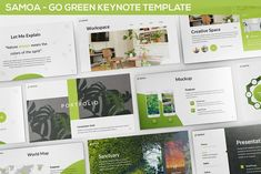 Samoa - Green Campaign Keynote Template Get it now! a Go Green Keynote Template Style for your Business presentation, suitable for anykind purpose especially Best Presentation Templates, Business Presentation, Envato Elements, Image Layout, Site Website, Farm Theme, Business Brochure, Keynote Template, Go Green