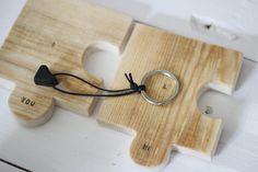 Drewniane podkładki - SeeHome - Podkładki i serwetki #dawandawalentynki.