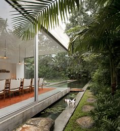 Isay Weinfeld - Inside Outside Dining Room