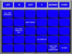 #life #questions #jeopardy #win