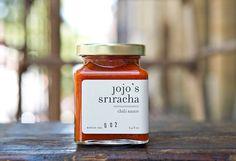 Jojo's Sriracha.