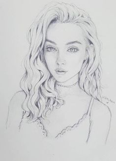 Girl Drawing Sketches, Portrait Sketches, Art Drawings Sketches Simple, Animal Sketches, Pencil Art Drawings, Beautiful Sketches, Sketches Of People, Drawing Expressions, Artist Sketchbook