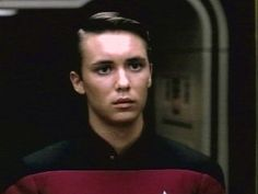 "Wesley Crusher (Played by Wil Wheaton) - A young girl's eye candy while enjoying ""nerd heaven"" aka Star Trek: TNG :) Watch Star Trek, Star Trek Tos, Star Wars, Wesley Crusher, Everything Film, Wil Wheaton, Star Trek Characters, Starship Enterprise, Young Actors"